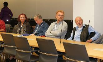 Mitglieder der AfB Mittelfranken beim Besuch im Bayerischen Landtag